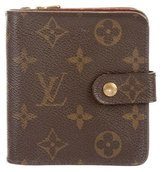 Louis Vuitton Monogram Compact Wallet