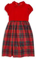 Oscar de la Renta Toddler's, Little Girl's & Girl's Holiday Plaid Dress