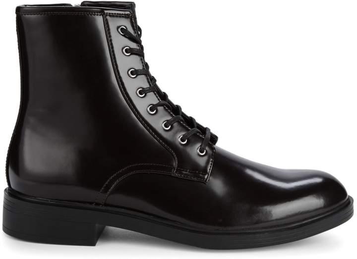 Calvin Klein Keigan Box Leather Boots