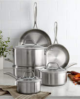 Zwilling J.A. Henckels Zwilling Spirit 10-Piece Polished Stainless Steel Cookware Set