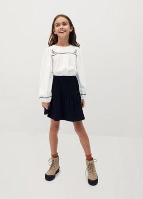 MANGO Corduroy skirt