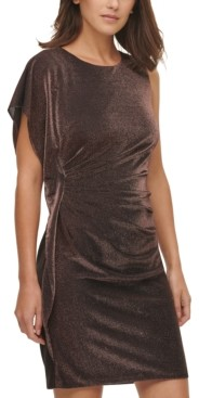 Vince Camuto Glitter Knit Bodycon Dress