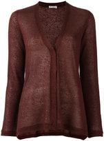 Brunello Cucinelli button up cardigan - women - Silk/Linen/Flax/Polyamide - S