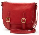 Frye Claude Leather Crossbody Bag - Grey