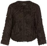 Emporio Armani Zigzag Fringe Jacket