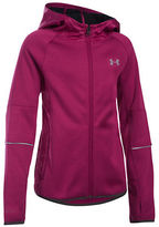 Under Armour Girls 7-16 Long Sleeve Hooded Jacket