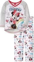 Disney Big Girls' Minnie Mouse Sleep Set