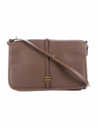 Marc by Marc Jacobs Leather Shoulder Bag Brown