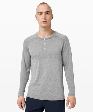 Lululemon Metal Vent Tech Long Sleeve Henley