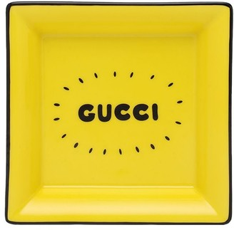 Gucci Mickey Mouse Square Porcelain Tray
