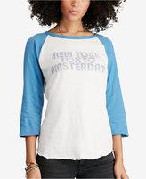 Denim & Supply Ralph Lauren Raglan Graphic-Print T-Shirt