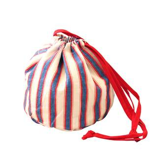 Lulu Handwoven Pouch Bag Cali