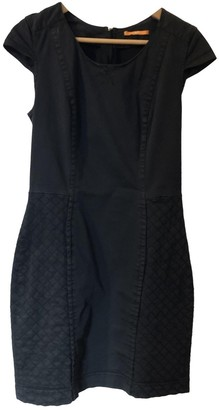BOSS ORANGE Black Cotton Dress for Women