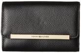 Tommy Hilfiger TH Serif Signature - Medium Flap Wallet