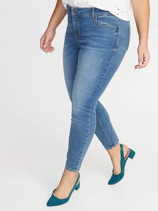 8154b78eb09 Old Navy Blue Plus Size Jeans - ShopStyle