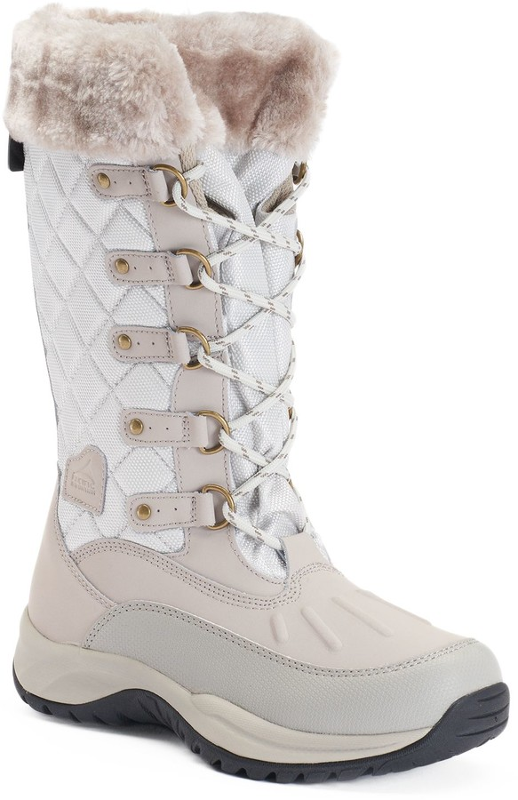 White Mountain Womens Fur Lined Boot