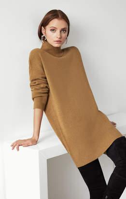 BCBGMAXAZRIA Rib Knit Sweater Dress