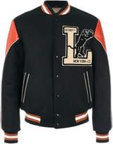 Schott varsity bomber jacket