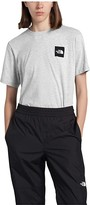 The North Face Box Short Sleeve Tee (TNF Light Grey Heather) Women's Clothing