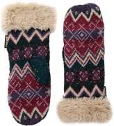 Muk Luks Women's Winter Mittens, pink, One