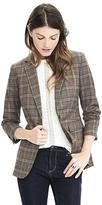 Banana Republic Lightweight Wool Flannel One-Button Blazer