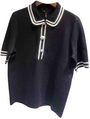 Maje Fall Winter 2019 Black Wool Knitwear