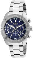 Invicta Blue Dial Stainless Steel Chronograph Sport Watch 21467