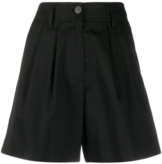 Forte Forte High-Waisted Tailored-Style Shorts