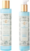 Panier des Sens Mediterranean Freshness Makeup Remover & Facial Toner 2-Piece Set