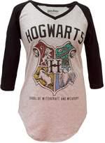Bioworld bioword Harry Potter Hogwarts Crest V-Neck Ragan (arge)
