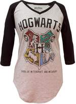 Bioworld Harry Potter Hogwarts Crest V-Neck Raglan (ediu)