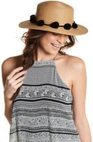 BCBGMAXAZRIA Pompom Hat