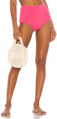 Marysia Swim Reversible Palm Springs High Waist Bikini Bottom