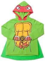 Superhero Ninja Turtles Hoodie Sweatshirt with Cape, Toddler