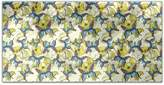 uneekee Ocean Of Flowers And Butterflies Rectangle Tablecloth: Large Dining Room Kitchen Woven Polyester Custom Print