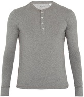 Paul Smith Cotton-jersey henley pyjama top
