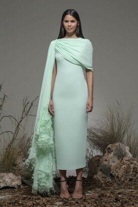 Isabel Sanchis Boara Sleeveless Midi Dress