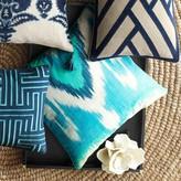 Williams-Sonoma Williams Sonoma Printed Tonal Ikat Pillow Cover, Blue