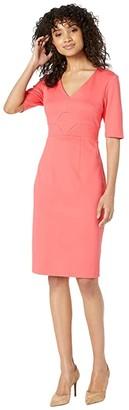Trina Turk Ashton Dress (Hot Coral) Women's Dress
