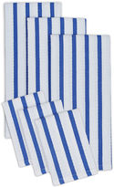 DESIGN IMPORTS Design Imports Set of 3 Heavyweight Kitchen Towels and Set of 3 Dishcloths