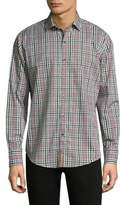 Robert Graham Plaid Cotton Casual Button-Down Shirt