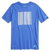 Nike Boy's Dry Kd Easy Money Graphic T-Shirt