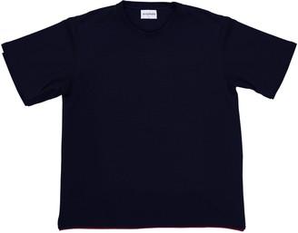 Acephala Unisex T-Shirt With Logo Patch