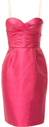 Dolce & Gabbana Pre-Owned Sweetheart Neck Dress
