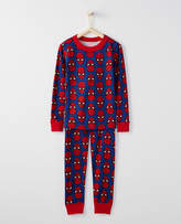 Hanna Andersson Marvel®; Spider-Man Long John Pajamas In Organic Cotton