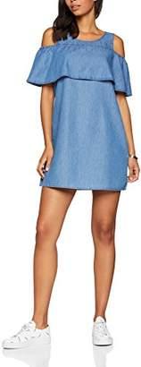 Vila CLOTHES Women's Viliama Cold Shoulder Short Dress,10 (Size: )