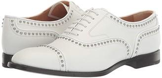 Church's Anna Metallic 2 Captoe Oxford (White) Women's Shoes
