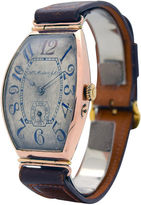 One Kings Lane Vintage H. Moser 14K Rose Gold Watch, C. 1910