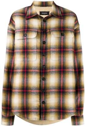 DSQUARED2 oversized shirt jacket