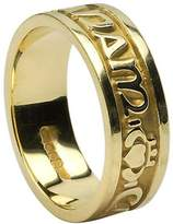 BORU Ladies Mo Anam Cara Irish Wedding Band 14k Size 7